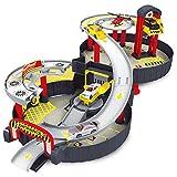 Zantec Regalo per bambini Veicoli in lega a rotaia a spirale per bambini Bambini City Tyre Parking Garage Toy Car Veicolo Veicolo Modello di auto per bambini Set da gioco