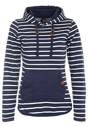 BLEND SHE 20200626ME - Sweater à capuche - Femme, taille:XS;couleur:Navy (70230)