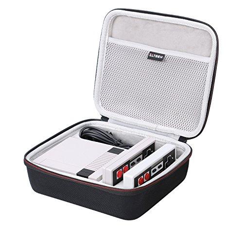 LTGEM NES Nintendo Entertainment System Classic Mini Edition Case - EVA Hart Hülle Reise Tragen Tasche Case