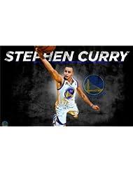 Stephen Curry Poster On Silk <58cm x 35cm, 23inch x 14inch> - Cartel de Seda - C62CEC