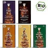 Coffee World Box - 5 x 10 BIO Kaffeekapseln von My-CoffeeCup | Nespresso-kompatible und kompostierbare Kapseln ohne Aluminium ohne Plastik | 50 Kapseln 5 Sorten