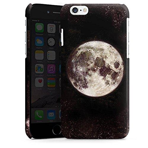 Apple iPhone 5s Housse Étui Protection Coque Lune Lune Lune Cas Premium brillant