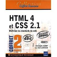 HTML 4 et CSS 2.1 - Coffret de 2 livres : Maîtrisez les standards du web [2e édition]