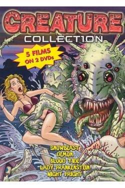 Creature Collection: Snow Beast (1977) / Demon (1979) / Blood Tide (1982) / Lady Frankenstein (1972) / Night Fright (1968) Lady Frankenstein