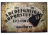 Finition à la main en bois Format A4 Olde Worlde Talking Planche Planchette en bois, avec plateau Ouija Style détails de la carte du monde