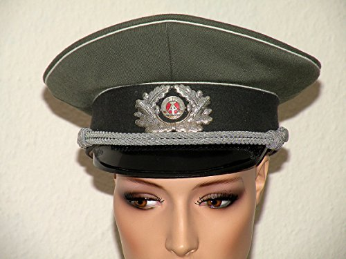 DDR Militär Schirmmütze Offizier LASK der NVA Ostalgie grün grau schwarz