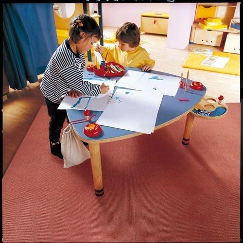 Preisvergleich Produktbild Haba 2891 Spieltisch Birkensperrholz Buche Massiv, 94 x 46-54 cm, natur