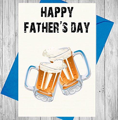 happy-father-s-day-cheers-premium-marfil-lino-tarjeta