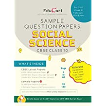 Educart CBSE Sample Question Papers Class 10 Social Science For February 2020 Exam