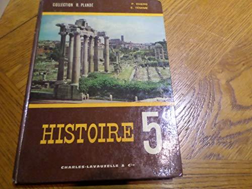 Histoire. Rome et le moyen âge jusqu'en 1328. (Classe de 5e). Editions Hachette. 1979. (Antiquité romaine, Moyen âge)