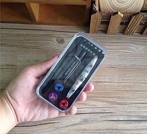 Preisvergleich Produktbild Black Magic Stick CW 6in 1Tool Kit RDA RBA DIY Draht Coil Master Kuro hochleistungswickler Jig