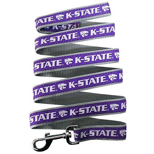 NCAA Pet Leine. 50Hochschulen in 3Größen erhältlich. Robuste, stabil, langlebig & verstellbar NCAA Hund Leine. Must-Have Collegiate Gear für 4-Bein-Sport Fan, Kansas State Wildcats, Small -