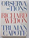 Observations. Photos von Richard Avedon. Text von Truman Capote.