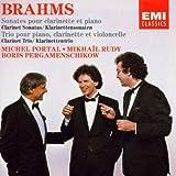 Sonate pour clarinette et piano en Fa min., Op.120 No. 1. Sonate pour clarinette et piano en Mi b maj, Op.120 No. 2. Trio pour piano, clarinette et violoncelle en La min., Op.114 / Johannes Brahms | Brahms, Johannes (1833-1897)