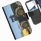 Hairyworm- Traktoren Seiten Leder-Schützhülle für das Handy LG G3 (D855, D850, D851)