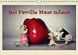 Bei Familie Maus zuhaus (Wandkalender 2019 DIN A4 quer): Eine mäusehafte Bildergeschichte (Monatskalender, 14 Seiten ) (CALVENDO Hobbys)
