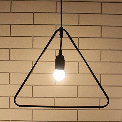 Luckyfree Kreative Modern Fashion Anhänger Leuchten Deckenleuchte Kronleuchter Schlafzimmer Wohnzimmer Küche, das Dreieck 3W warmweiß Led (3 Light-anhänger-dreieck)