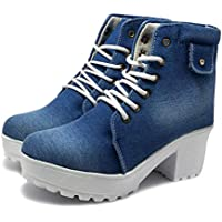 FASHIMO Latest Collection, Comfortable & Stylish Ankle Length Boots for Women and Girls