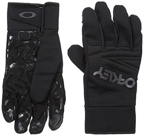 Oakley Herren Factory Park Glove Blackout, L