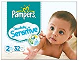 Pampers New Baby Sensitive 32 Couches Taille 2 (3-6 kg)