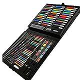 Pinceau aquarelle stylo crayon ensemble pour enfants boîte cadeau peinture art (150 pièces)