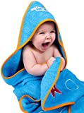 Water Babies Baby Towel (Turquoise, 0-18months)