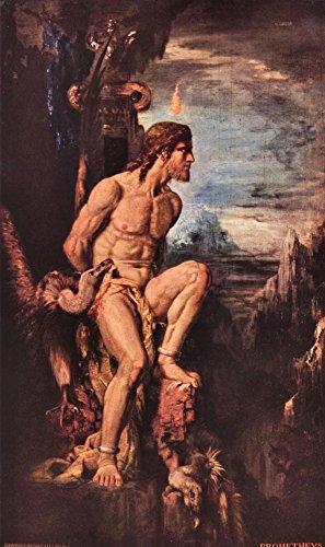Das Museum Outlet–Prometheus von Gustave Moreau–Poster Print Online kaufen (152,4x 203,2cm)