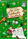 Mein dicker Weihnachts-Rätselblock: Rätsel, Spiele Witze, Scherzfragen,...
