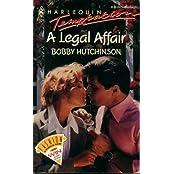 A Legal Affair (Harlequin Temptation)