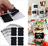 #8: Smartcraft Chalkboard Stickers With 42 Stickers In 6 Styles + Chalks, Vinyl Labels For Home, Garage, Kitchen, Parties & Office Labeling Needs