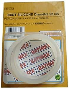 Kitchen Move 351 Joint Silicone pour Autocuiseur Etrier Batimex 6 L Diamètre 22 cm