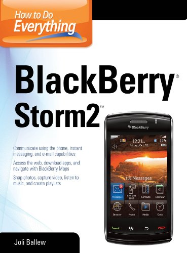 How to Do Everything BlackBerry Storm2 (English Edition) (Blackberry Headsets)