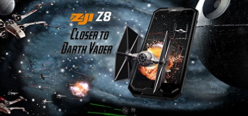 HOMTOM ZOJI Z8 4G Smartphone 5 0 Pulgadas HD Android 7 0 MTK6750 64-bit Octacore 13 16MP Camera 4250mAh 4 GB de RAM   64 GB de ROM el m  vil IP68 impe