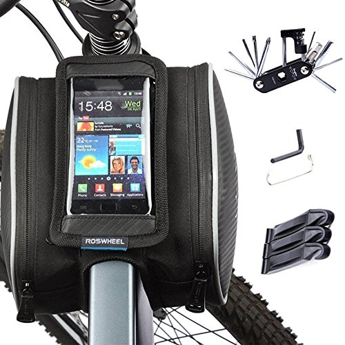 bike-repair-bag-set-wotow-cycling-frame-pannier-cell-phone-bag-bicycle-front-top-tube-5-inch-mobile-