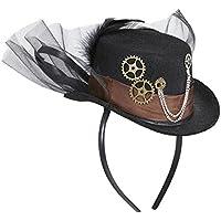 STEAMPUNK MINI TOP HAT FOR FANCY DRESS ACCESSORY