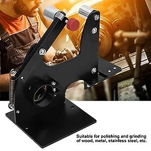 M14 Rectificadora de lijadora de banda, pulidora de lijadora de banda, amoladora angular eléctrica de 115/125/150 mm, para pulir y moler madera, metal, acero inoxidable