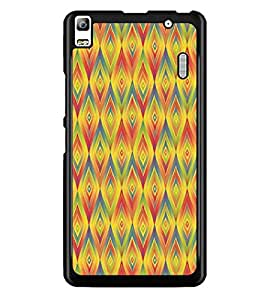 PrintDhaba Pattern D-5235 Back Case Cover for LENOVO A7000 TURBO (Multi-Coloured)
