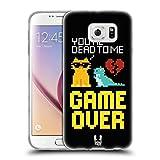 Head Case Designs Game Over Pop Trends Étui Coque en Gel molle pour Samsung Galaxy S6