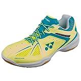 Yonex Power Cushion 35 Ladies Badminton Shoes, Color- Yellow/Blue, Shoe Size- 5 UK