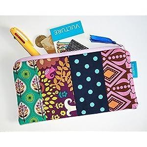 Patchwork Kosmetiktasche - Federmäppchen - Stiftetasche - handgemacht