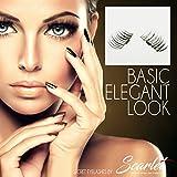 Magnetische Secret Wimpern, Ultradünn, Wiederverwendbar (Scarlet Magnetic Eyelashes) - Elegant Look