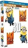 Coffret trop moche et méchant : Moi, moche et méchant 1 et 2 [Blu-ray 3D]