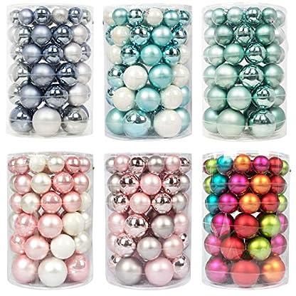 Inge-glas-Kugeldose-60tlg-Weihnachtskugeln-Kugelbox-Farben-Baumschmuck-Kugeln