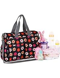 Baby Diaper Bags Mother Bag Shoulder Bag Fashion Maternity Bag Baby Carry Bag Waterproof 5 Pcs / SET