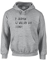 P Sherman 42 Wallaby Way Sydney, Printed Hoodie