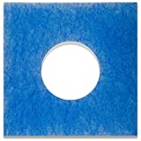 10 Ersatzfilter für Limodor Limot LF/ELF Badlüfter - 226 x 226 mm, Ø 95 mm, Filterklasse G4, 18mm - Alle F/C Limodor-Typ F-LF/5 00010 LIG Lüftungsanlage - Luftfilter und Staubfilter für Badentlüftung