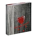 Rezeptringbuch Rustikal (Kochbuch zum Selberschreiben, A5, 4-Ring)