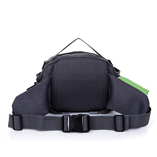 Wewod impermeabile Borse a spalla/outdoor Chest Bag Camping Bosom Bag/Grande capacità sport marsupio, Uomo Donna Bambini, nero, M Blau
