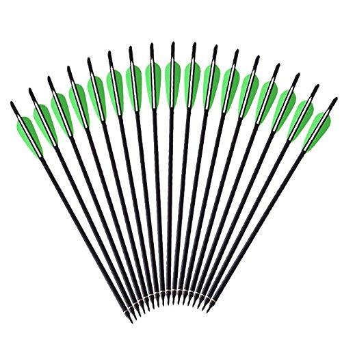"""CarbonBolzen 20 Zoll CarbonPfeile Armbrustbolzen Armbrustpfeil 20/"""" Pfeil Karbon"""