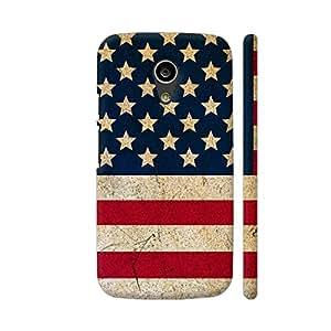 Colorpur Moto G2 Cover - America Flag Case